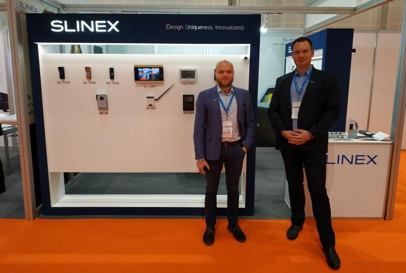 Прямо сейчас компания Slinex на международной выставке Intersec 2019!