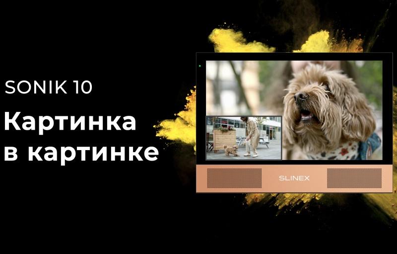 «Картинка в картинке» – контролируйте всё, что происходит у вашего дома с Sonik 10